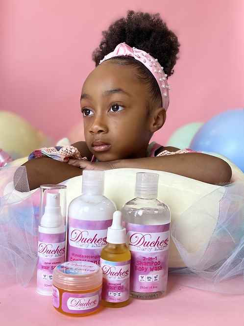 Curly Kids Collection Bundle