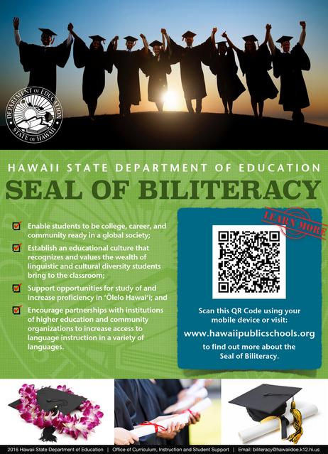 Seal of Biliteracy for Seniors