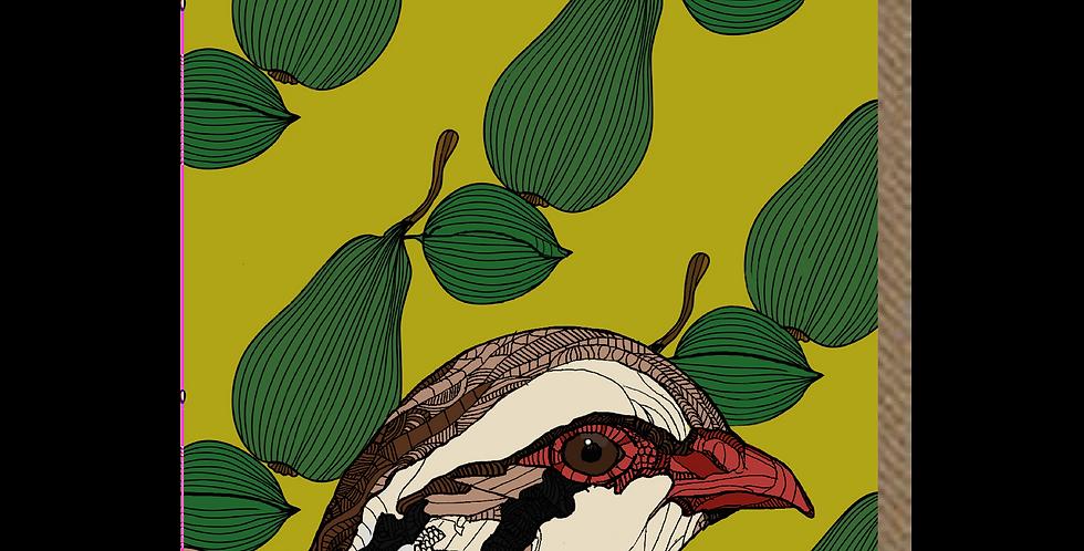 Partridge Pear - A6 Card