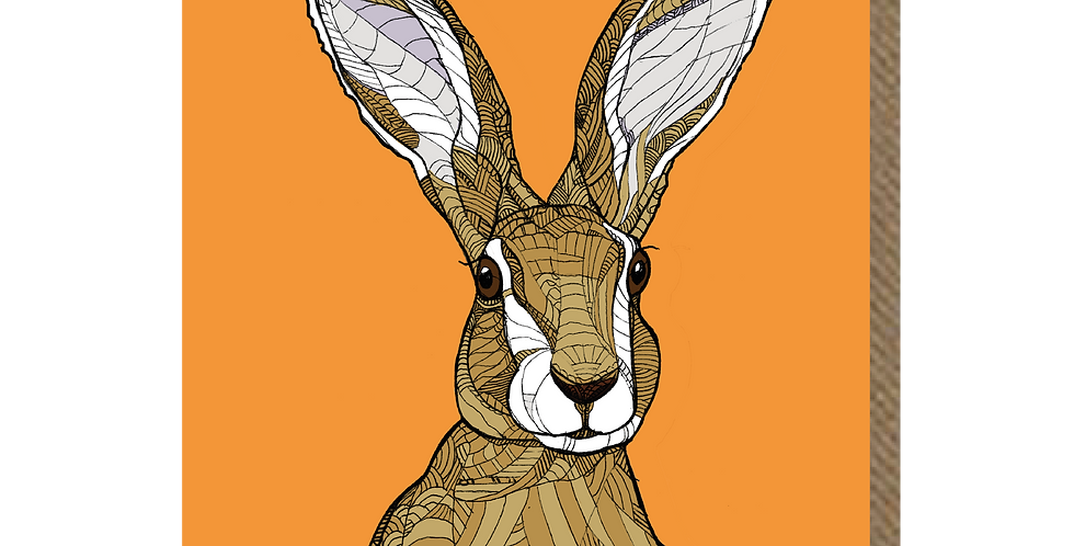 Spare Hare - A6 Card