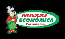 logo farmácia maxxi econômica cliente grupo drop