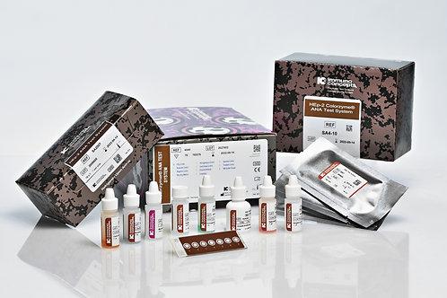 ANA Colorzyme 10 laminas × 7 wells - Immuno Concepts