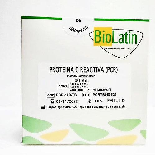 PCR (Proteína C Reactiva) Turbidimétrica Biolatin ®
