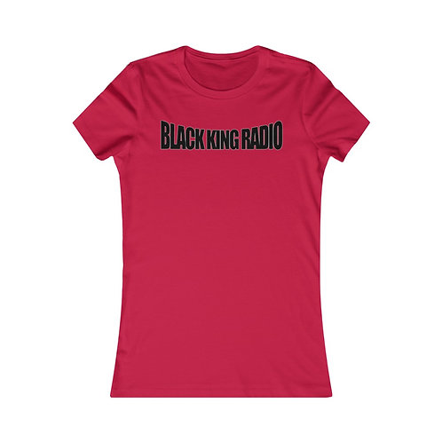 Ladies BKR T-Shirt Blk Print