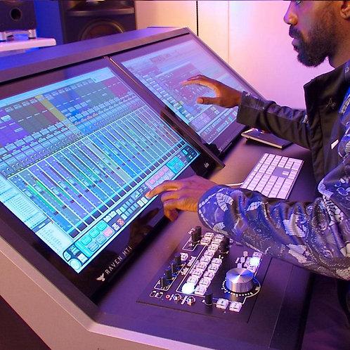 Recording By Hr (Raven Mti2 Studio B)