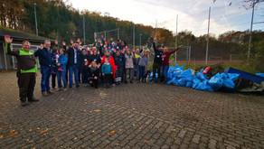 RAM Tours and Friends sammeln Müll - und das erfolgreich!