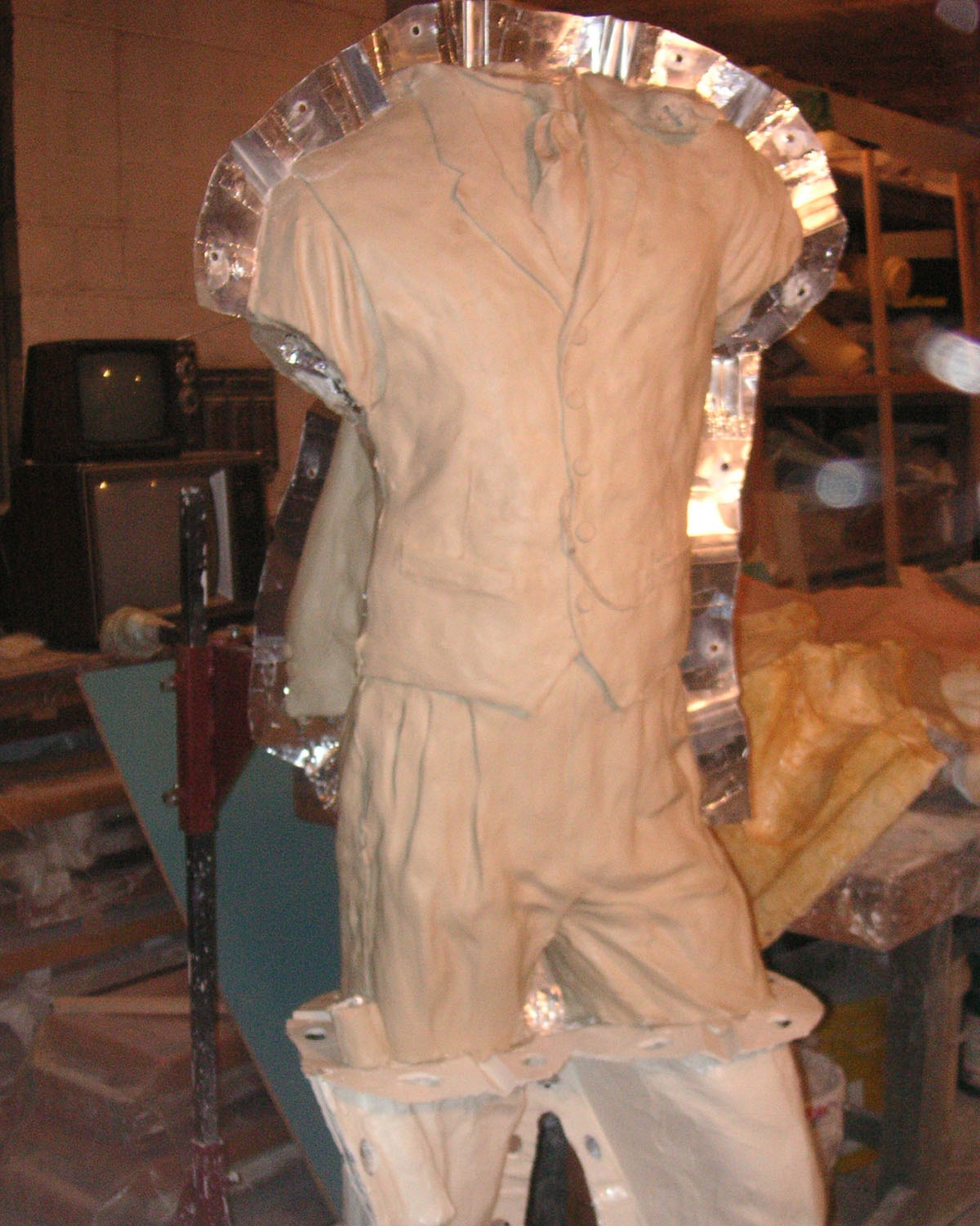 Charles Roebling mold