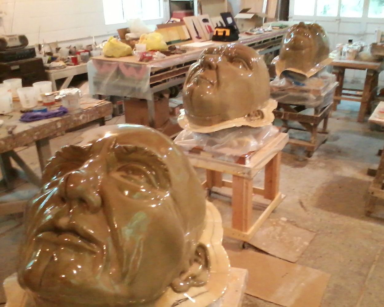 Large heads molds