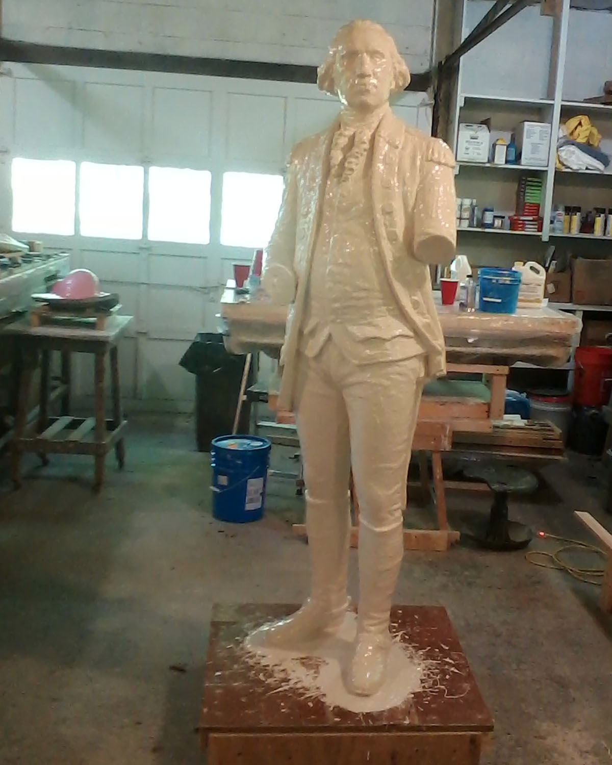 George Washington mold
