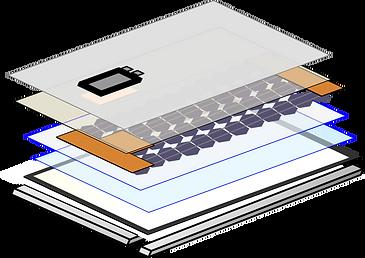 Solar panel,panel,seal,glass,filter,cell,backsheet