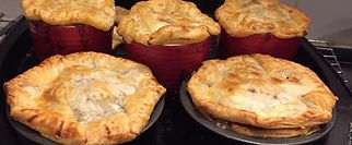Steve's Beef and Guinness Pie