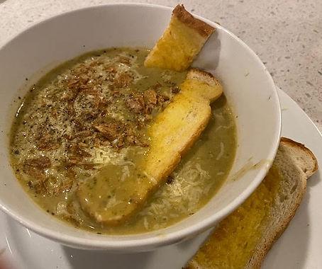 Steve's Cheesy Kale and Potato Soup