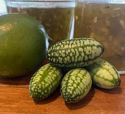 Steve's Lime and Cucamelon Jam