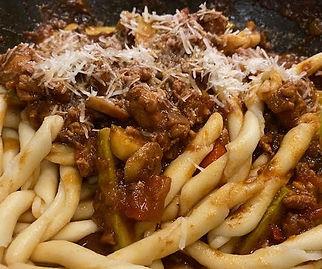 Steve's Chicken Mushroom Zucchini Pasta Sauce