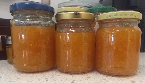 Steve's Mandarin Marmalade
