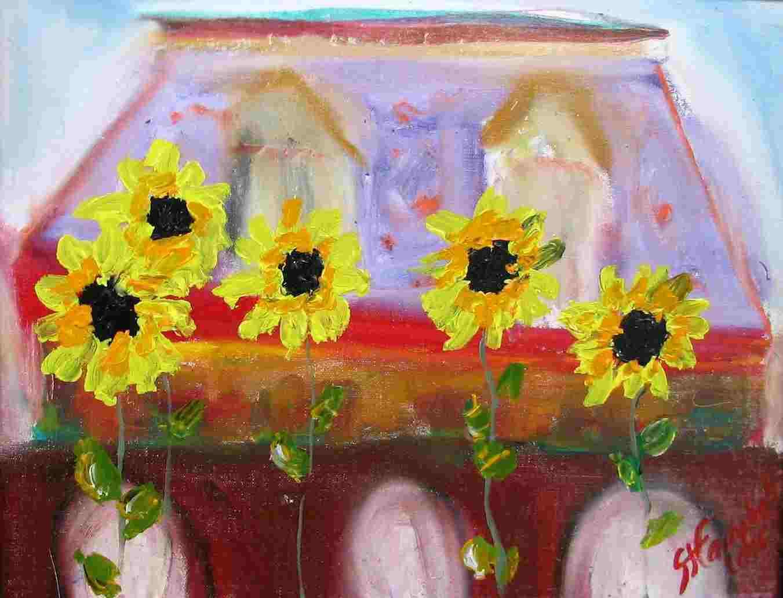 sunflowersbuilding
