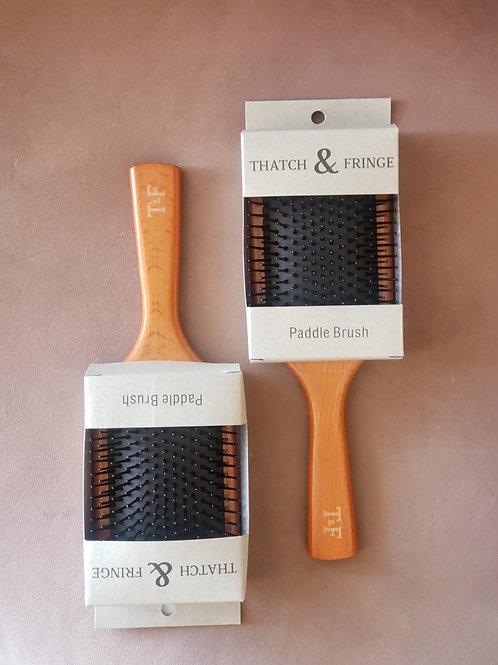 Thatch & Fringe Paddle Brush