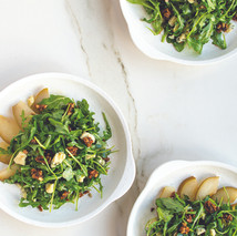 Poched Pear Salad