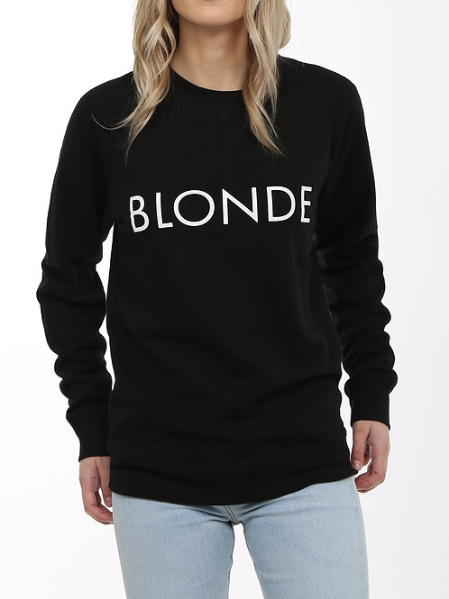 CLASSIC CREW - BLONDE (Black)