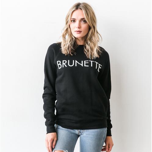 Brunette Classic Crew - Black