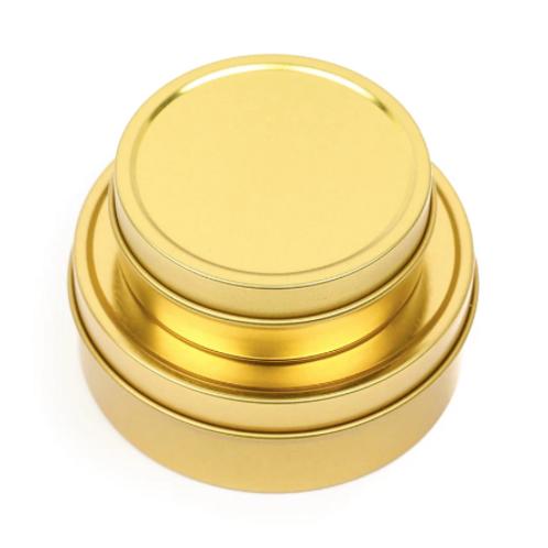 Gold Travel Tins