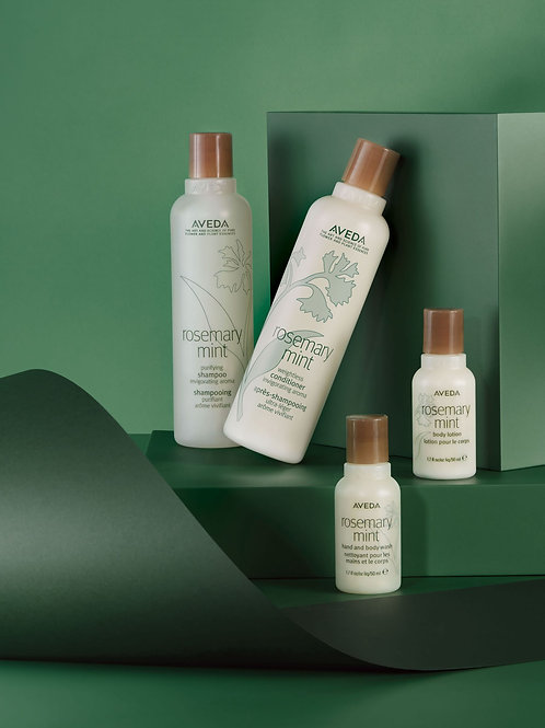 Limited Edition - rosemary mint invigorating hair and body care