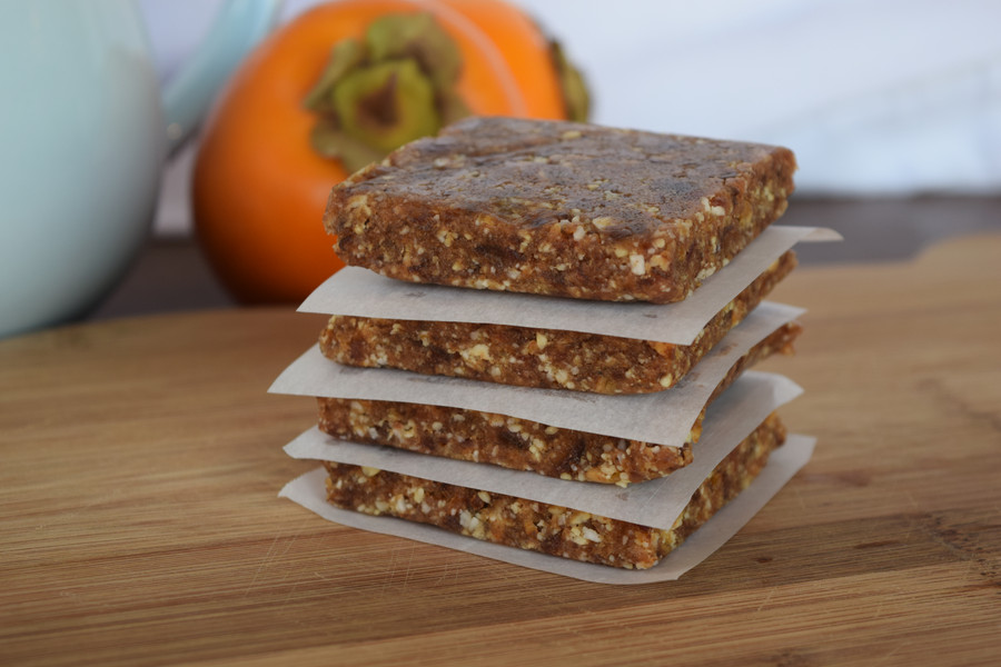 Orange-Almond Nut Squares