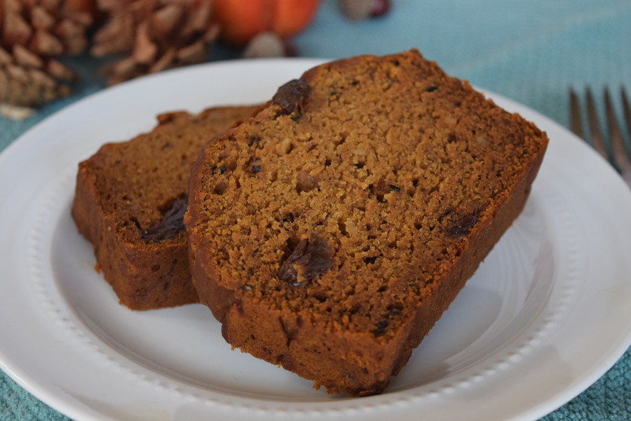 Deliciously Free Pumpkin Bread