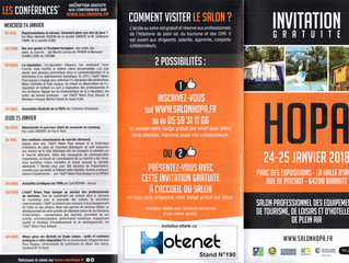 Hotenet vous invite au Salon HOPA 2018