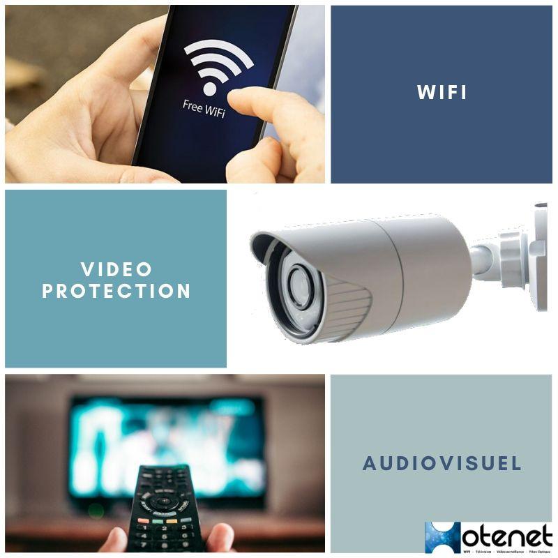 Télévision et wifi pour les campings
