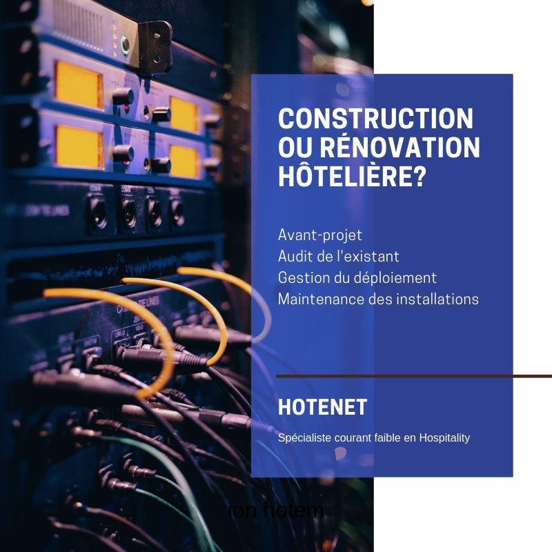Hotenet Spécialiste courant faible: fibre, réseau, xifi, caméra, télévision