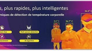 Caméras thermiques : sécurisez vos collaborateurs, vos clients et votre entreprise!