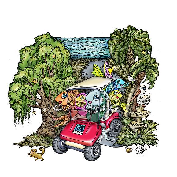 High Tide Carts Golf Cart Rentals