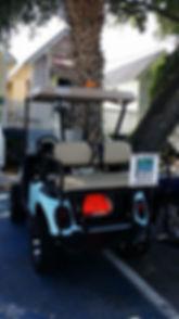 Sea Island Golf Cart rental