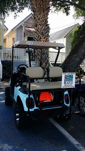 Sea Island Golf Cart rental