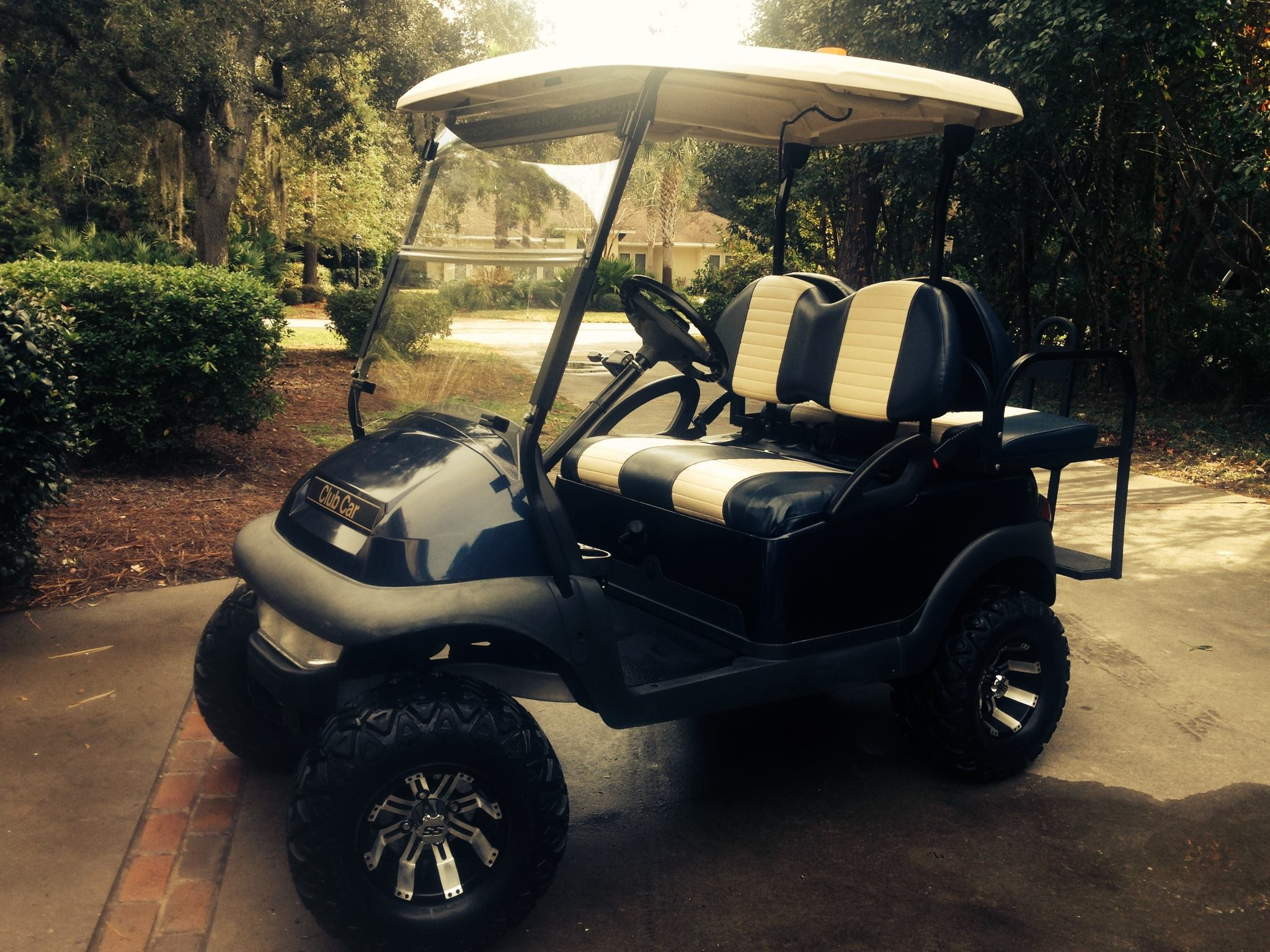 Gas golf cart rental