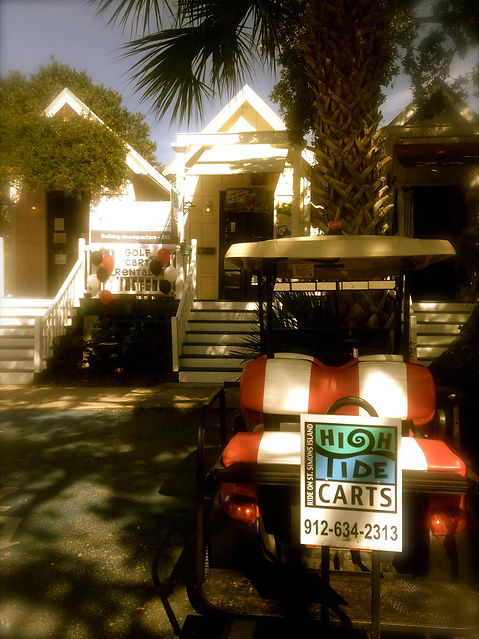 Golf Cart Rentals on St Simons