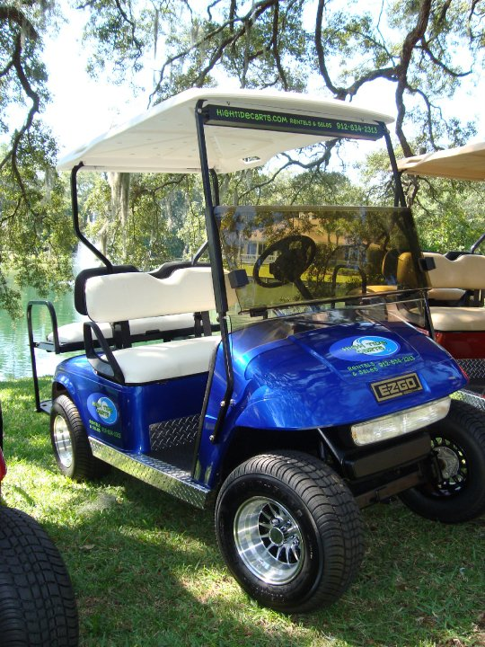 Blue Golf Electric Cart Rental