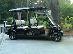 six passenger electric golf cart