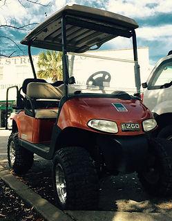 4 passenger gas golf cart