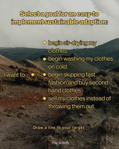 Sustainable Adaption | The Stitch