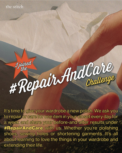 Repair And Care Challenge | The Stitch