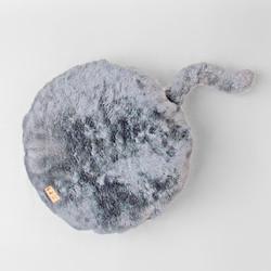 almofada kitty prata