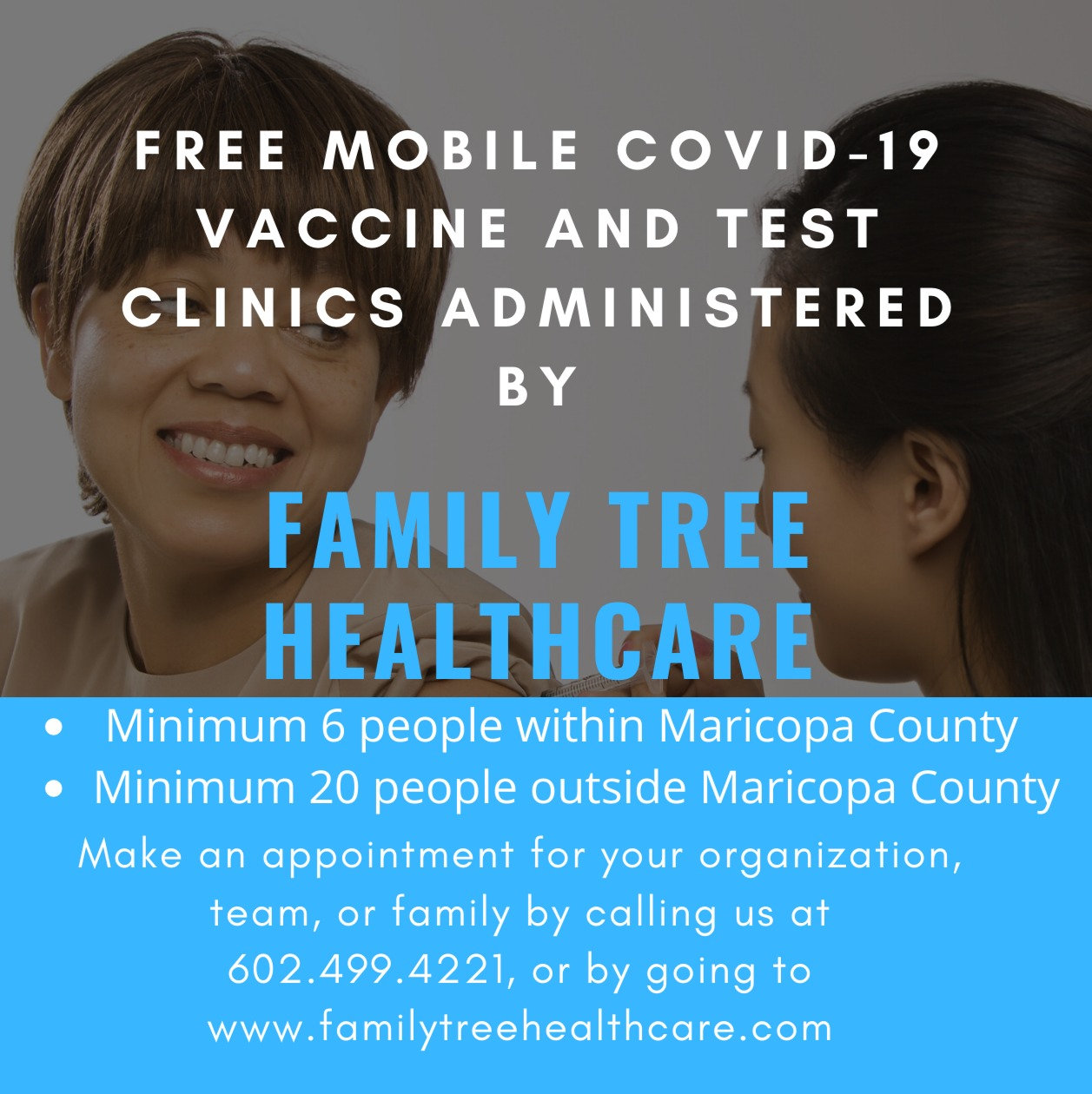 Free COVID Mobile Vaccine and Testing