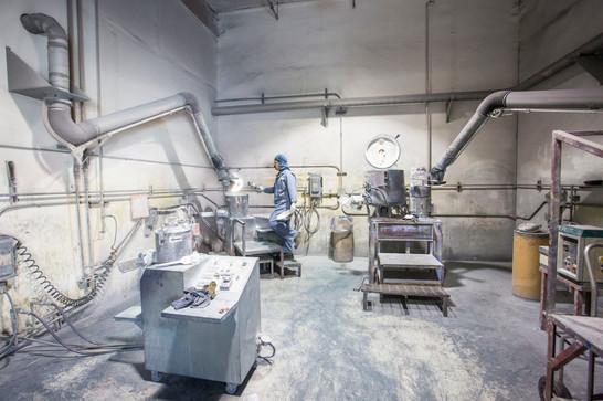 Factory Work Process Photograph