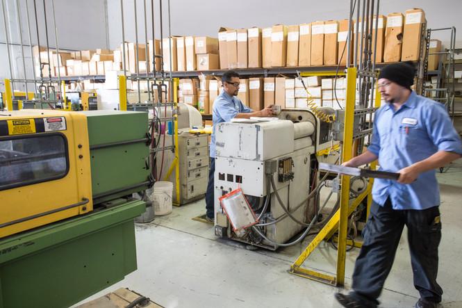 Color Technicians Working Photograph