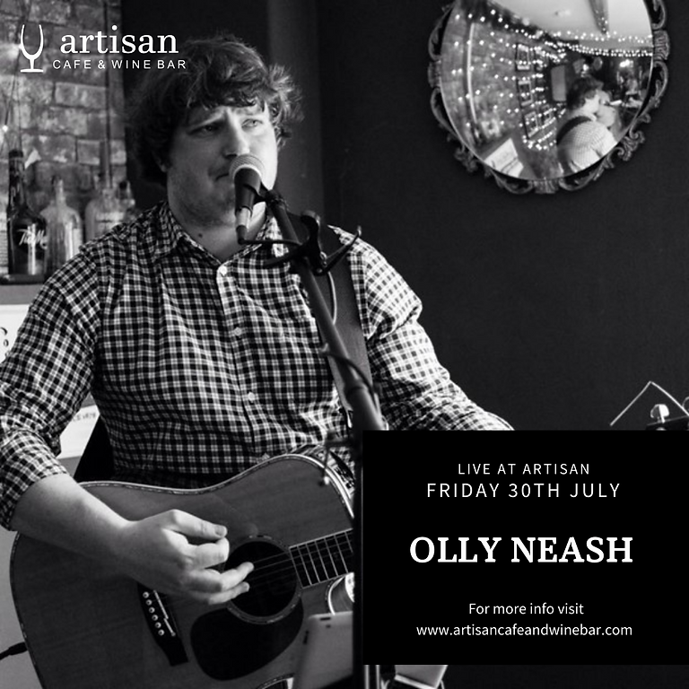 Friday Night Live with Olly Neash