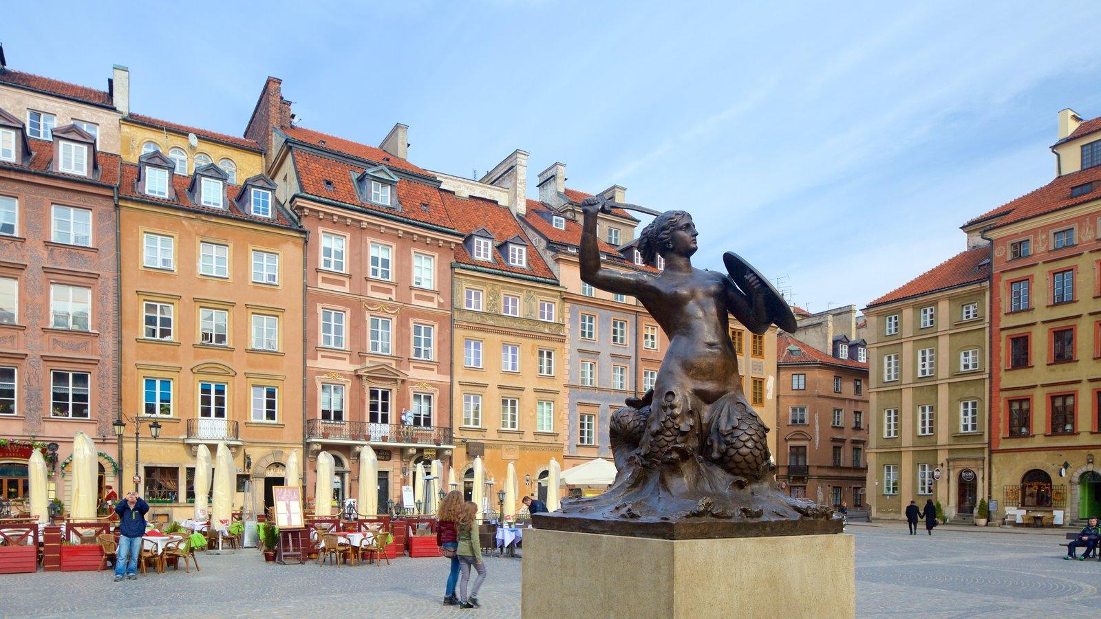 118988-Warsaw-Mermaid-Statue