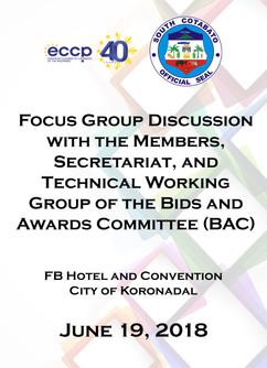 4 - June 19, 2018 - Focus Group Discussi