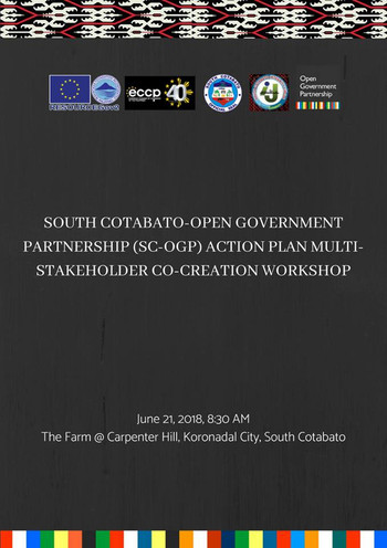 7 - June 21, 2018 - SC-OGP Co-creation W